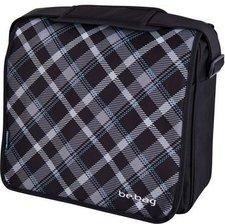 Herlitz be.bag Messenger Bag Black Checked