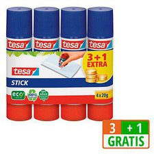 Tesa Stick ecoLogo 3+1 4 x 20 g