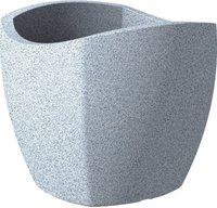 Scheurich Wave Globe Cubo (50cm) weiß-granit