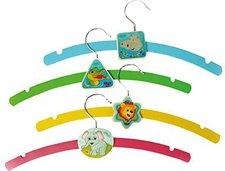 Hess Spielzeug Kleiderbügel 4er Set Dschungel (13360)