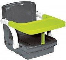 Rotho-Babydesign Sitzerhöhung Hi-Seat grau/grün