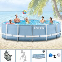 Intex Pools Steel Frame Pool 366 x 122 cm ohne Zubehör