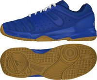 Adidas Court Stabil J blue/white/silver metallic