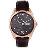 Tommy Hilfiger Leather Strap Watch (1791058)