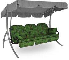 Angerer Deluxe Schaukelauflage für 3-Sitzer 180 x 50 cm Malaga grün