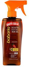 Babaria Carrot Tanning Spray oil SPF 6 (300 ml)