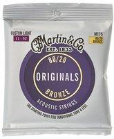 Martin Guitars Akustik 80/20 Bronze Custom Light (M175)