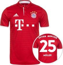 Adidas FC Bayern Müller-Trikot 2016/17 heim