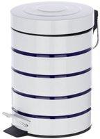 Wenko Kosmetik Treteimer Marine weiß (3 L)