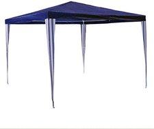 Nexos Partyzelt 3x3m blau wasserdicht (GM36001)