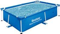 Bestway Splash Frame Pool 239 x 150 x 58 cm mit Kartuschenfilter