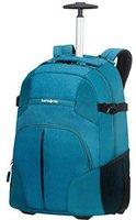 Samsonite Rewind Laptop Trolley Backpack turquoise