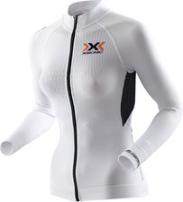 X-Bionic X-Bionic The Trick Biking Shirt Long Sleeves Full Zip Women white / black