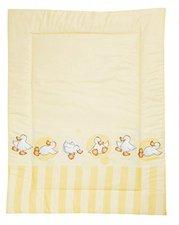 Alvi Krabbeldecke Happy Duck gelb 100 x 135 cm
