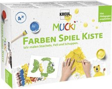 C. Kreul Mucki Fingerfarben Farben Spiel Kiste (29102)