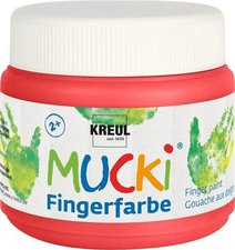 C. Kreul Mucki Fingerfarbe 150 ml rot