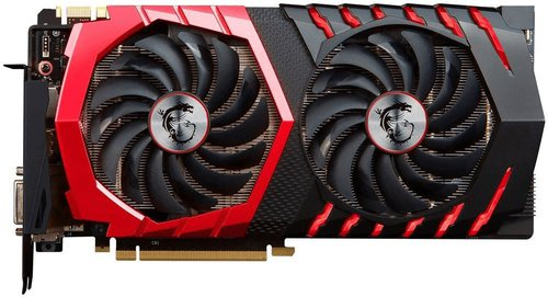 MSI GeForce GTX 1070 Gaming X 8192MB GDDR5