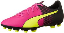 Puma evoSPEED 5.5 Tricks AG Jr pink glo/safety yellow/black