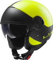 LS2 Helmets Cabrio Via matt Hi-Vis gelb