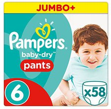 Pampers Baby Dry Pants Extra Large Gr.6 (16+ Kg)