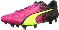 Puma evoSPEED SL II Lth Tricks FG pink glo/safety yellow/black