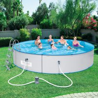 Bestway Stahlwandpool Hydrium Splasher Set 460 x 90 cm