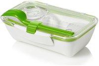 black + blum Bento Box - Lunch Box grün/weiß