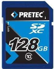 Pretec SDXC 128GB Class 10 (PCSDXC128GB)