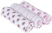 Lässig Swaddle & Burp Blanket L - Sweet Dreams girls