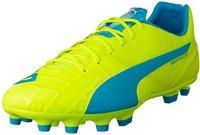 Puma evoSPEED 1.4 AG safety yellow/atomic blue/white