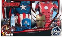 Rubies Avengers 2 Bipack: Iron Man & Captain America Classic