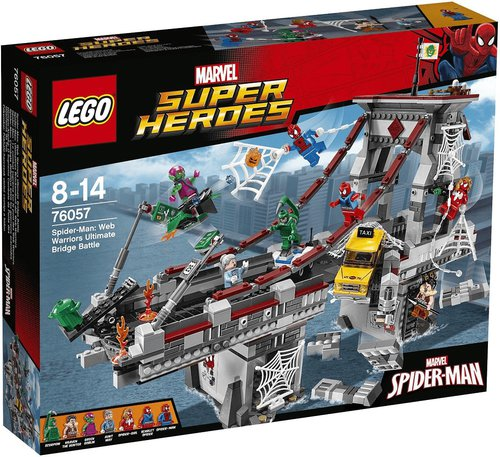 LEGO Super Heroes Spider-Man Ultimatives Brückenduell (76057)