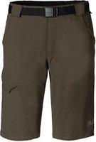 Jack Wolfskin Hoggar Shorts Men Olive Brown