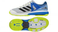 Adidas Court Stabil 13 ftwr white/core black/shock blue