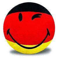 Nici Smiley Kissen Deutschland 35 cm