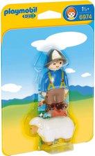 Playmobil 1.2.3 - Schäfer mit Schaf (6974)