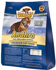 Wildcat Andhra mit Fisch, Süßkartoffeln & Kürbis (500 g)