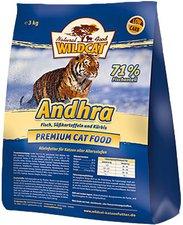 Wildcat Andhra mit Fisch, Süßkartoffeln & Kürbis (3 kg)