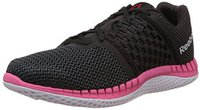 Reebok ZPrint Run Wmn black/gravel/solar pink/black reflective/white/coal