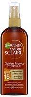 Garnier Ambre Solaire Golden Protect Protective Oil SPF 15 (150ml)