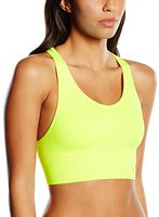 Hummel Sue Seamless Sports Top safetyyellow