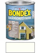 Bondex Dauerschutz-Farbe Morgenweiß 0,75 l