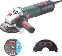 Metabo W 12-125 Quick + Trennscheiben-Set