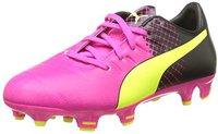 Puma evoPOWER 3.3 Tricks FG Jr pink glo/safety yellow/black