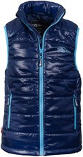 Trollkids Kids Trondheim Vest Navy / Light Blue