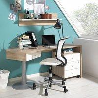 Wellemöbel Teenio Schreibtisch Wange rechts Stützfuß links (84369)