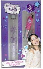Disney Violetta Set (EdT 15ml + Lipgloss)