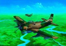 Trumpeter Douglas A-1j Ad-7 Skyraider