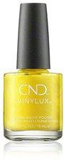 CND Vinylux Weekly Polish - 104 Bicycle Yellow (15 ml)