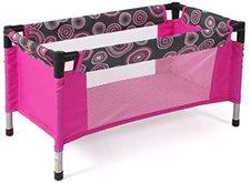 Bayer Chic Puppen-Reisebett Hot Pink Pearl